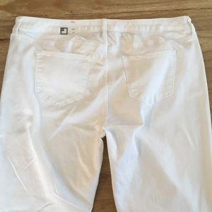 JCP JCPenney Skinny White Stretch Denim Jeans